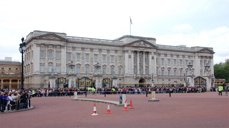 Sídlo britské královny