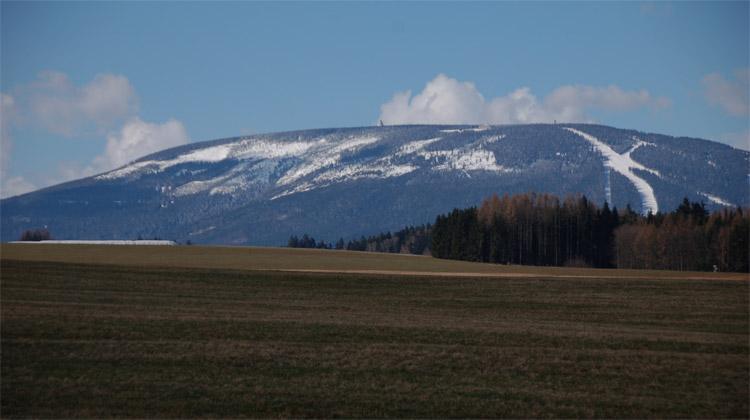 Dvacátá nejvyšší hora Krkonoš