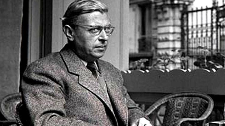 Velký myslitel Jean-Paul Sartre